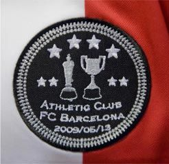 Logo On Athletic Jersey For Copa Del Rey Final (CanalAthletic.com)